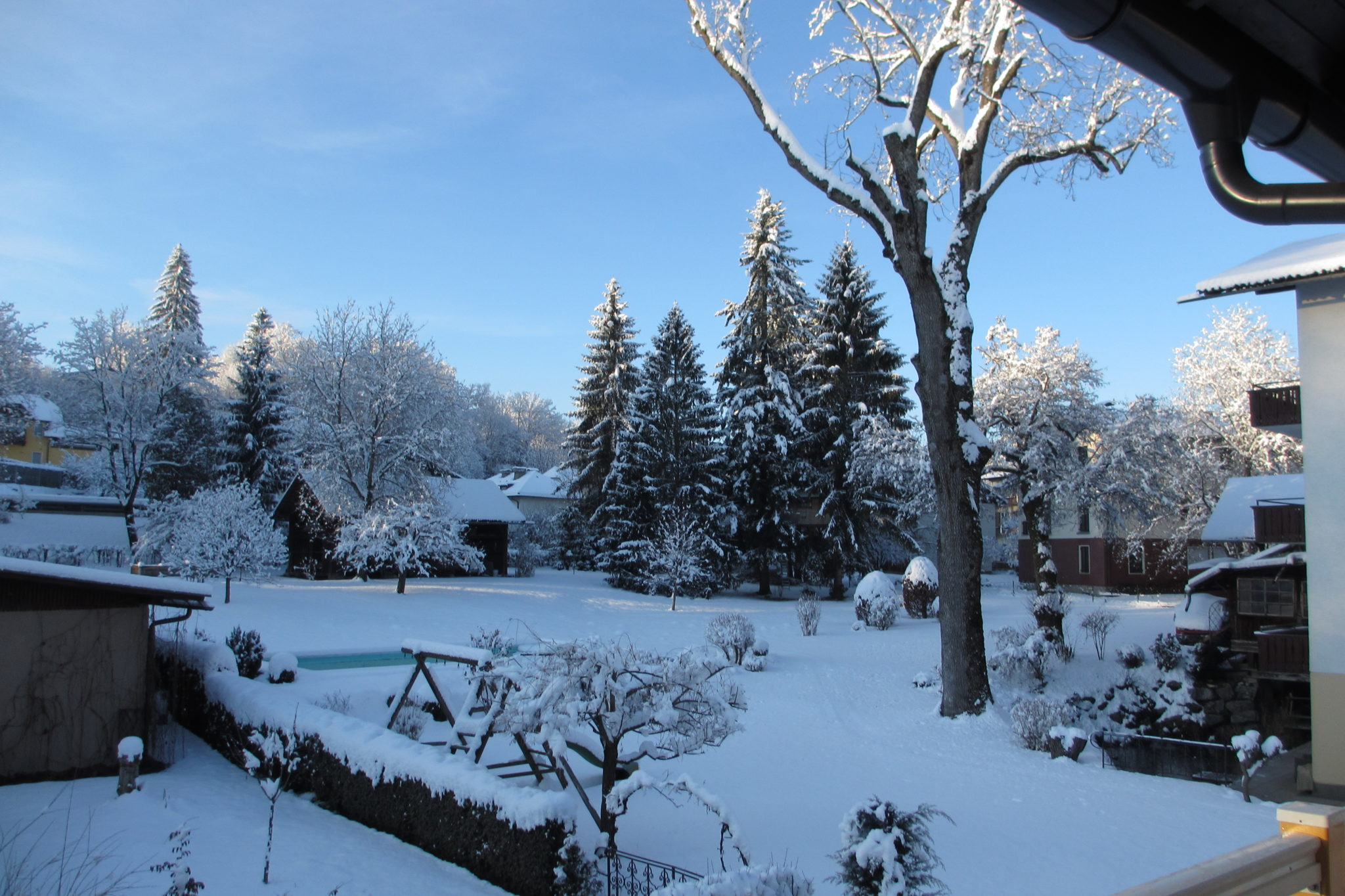 Winterimpression from balcony Top South-West